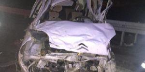 Batman-Hasankeyf Karayolunda kamyonet takla attı: 1 ölü 4 yaralı