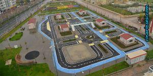 Diyarbakır Bağcılar'da Trafik Eğitim Parkı tamamlanıyor