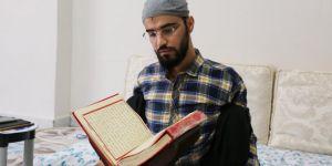 DMD hastası Hasan'ın örnek alınacak hikâyesi