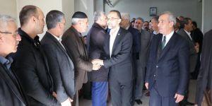 HÜDA PAR Genel Başkanı Sağlam Bingöl'de taziye ziyaretinde bulundu