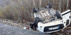 Bingöl'de kaza: Bir yaralı