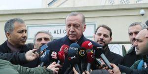 Cumhurbaşkanı Erdoğan gündeme ilişkin konuştu