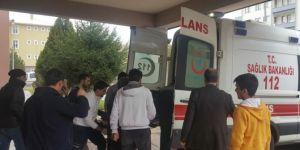 Bingöl Solhan'da binadan düşen vatandaş yaralandı