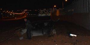 Batman'da takla atan otomobilde bulunan 4 kişi yaralandı