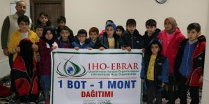 IHO-EBRAR puts smiles on orphan and poor children's face