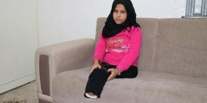 Syrian Maryam's only wish is prosthetic legs
