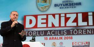 Cumhurbaşkanı Erdoğan'dan Yargıya olan güven düştü iddiasına yanıt
