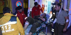 Siirt Şirvan'da askerler dağdan düştü:10 yaralı