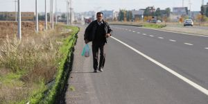 Citizen walks from Mardin to Ankara to seek his right