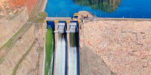 Kapağı kopan Dicle Barajında son durum