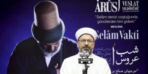745. Vuslat Yıl Dönümü Şeb-i Arus Programı Konya'da gerçekleştirildi