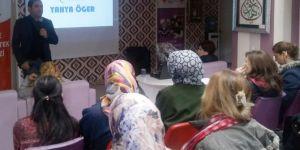 Kadınlara bağımlılıklarla mücadele eğitimi