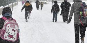 Edirne ve Kırklareli'nde eğitime kar engeli