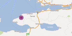 4.5 magnitude earthquake hit Turkiye's Yalova