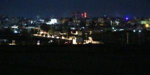 U.S. truck convoy crossed through Qamishli