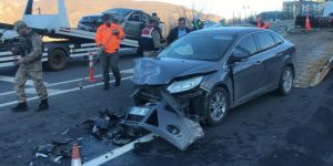 Bingöl'de üç aracın karıştığı kazada 7 kişi yaralandı