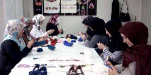 Hilvan'da kadınlara yönelik meslek edindirme kurslarına ilgi büyük
