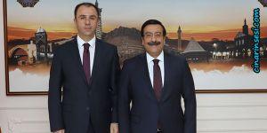 Mardin Cumhuriyet Başsavcısı Ahmet Bektaş'tan Cumali Atilla'ya ziyaret
