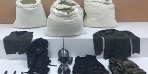 Diyarbakır Lice'de mühimmat ve esrar ele geçirildi: 3 gözaltı