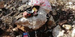 Siirt Eruh Payamlı köyü kırsalında PKK'ye ait yaşam malzemeleri ele geçirildi