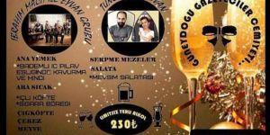 Güneydoğu Gazeteciler Cemiyetinden tepki çeken yılbaşı kutlama programı