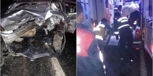 Otomobiller çarpıştı: Bir ölü 11 yaralı