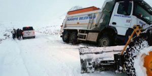 Van Büyükşehir Belediyesinden kurtarma operasyonu