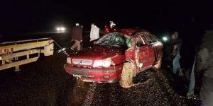 Kaza geçiren doktor yaralandı