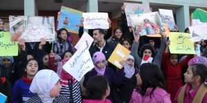 Nearly half of the Syrian refugee children cannot go to school