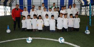 Diyarbakır Büyükşehir Belediyesinin kış spor okulları devam ediyor