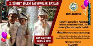 Bismil Belediyesinin 2. sünnet şöleni için başvurular başladı