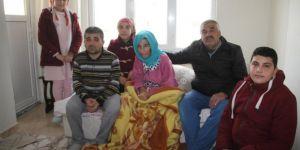 Mardin'in Midyat ilçesinde ihtiyaç sahibi aileye yardım eli uzatıldı