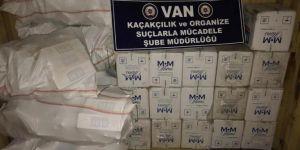 Van'da 16 bin 600 paket kaçak sigara ele geçirildi