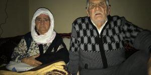 Mardin Derik'te elektrik kesintileri yaşlı ve hasta çifti mağdur etti