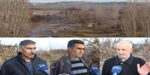 Dicle Nehrinde binlerce meyve ağacı zarar gördü