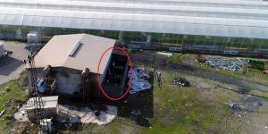 Diyarbakır Bismil'de kaçak trafolar drone ile tespit edildi