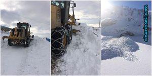 Kulp Belediyesinin karla mücadele çalışmaları tamamlandı