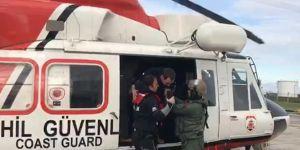 Samsun açıklarında batan gemide 2 kişi hayatını kaybetti