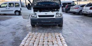 Van Gürpınar Ortaköy Mahallesi'nde 79 kilogram toz esrar ele geçirildi