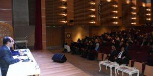 Gaziantep'te umreye gidecek öğrencilere seminer verildi