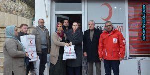 Çermik Belediye Başkanından Kızılaya ziyaret