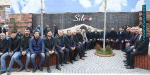 Cumali Atilla'dan Silvan esnafına ziyaret