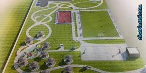 Dicle'de Kocaalan mesire alanı ve spor kompleksi projesi