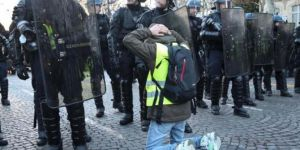 167 protesters taken into custody in France