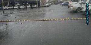 Diyarbakır'da yol çizgileri ve trafik levhaları yenileniyor