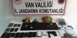 Erciş'te PKK operasyonu: 20 gözaltı
