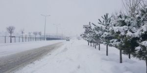 Snowfall blocks Bingöl-Erzurum highway in Turkiye