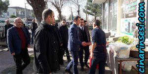 Bismil Kaymakamı Kerem Süleyman Yüksel Tepe Mahalle Esnafı ile Buluştu