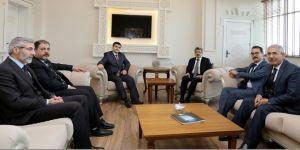 MÜSİAD ve İran Kooperatifinden Vali Bilmez'e ziyaret