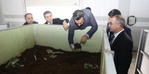 Diyarbakır'da solucan gübre tesisi faaliyete geçecek